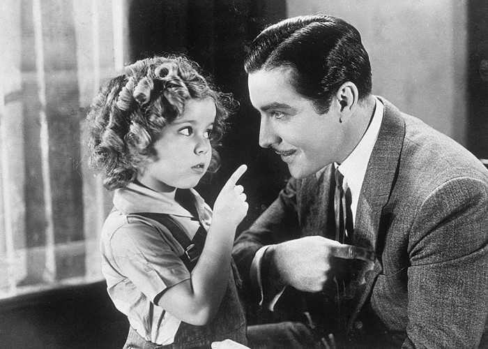 Shirley Temple and John Boles in Curly Top
