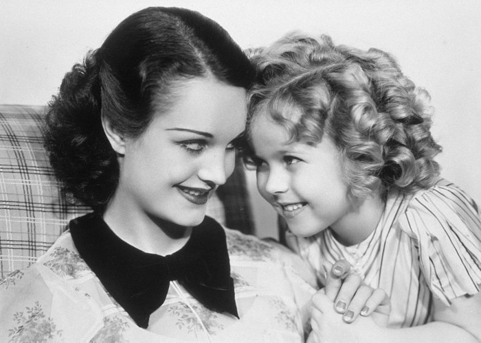 Shirley Temple and Rochelle Hudson in Curly Top