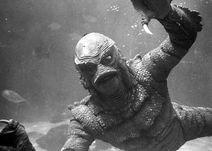 Ricou Browning in Revenge of the Creature