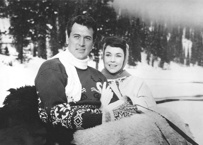 Rock Hudson and Jennifer Jones in A Farewell to Arms