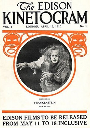 First film adaptation of Mary Shelley's Frankenstein