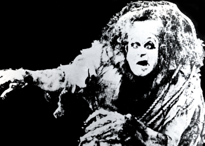 Charles Ogle in Frankenstein