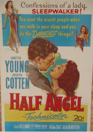 Joseph Cotten and Loretta Young in Half Angel
