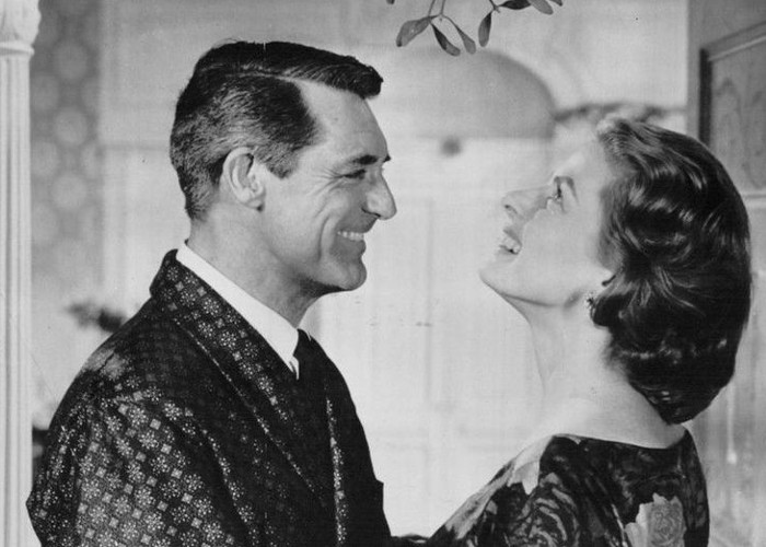 Cary Grant and Ingrid Bergman from Indiscreet (1958)