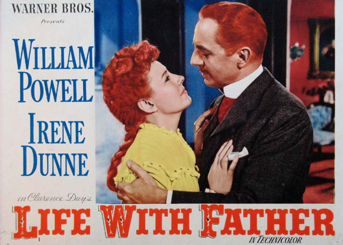 William Powell and Irene Dunne in Life with Father