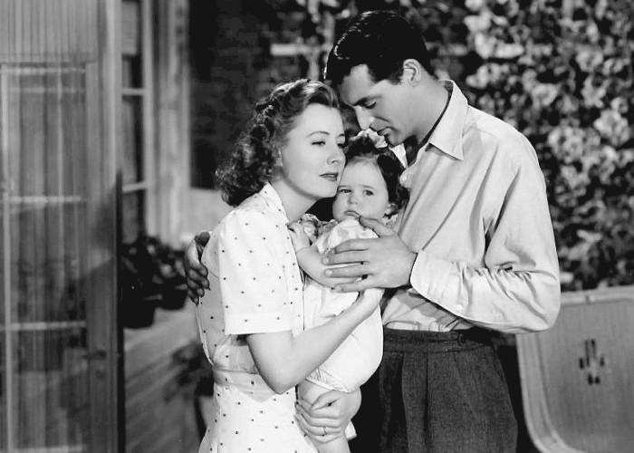 Cary Grant and Irene Dunne in Penny Serenade