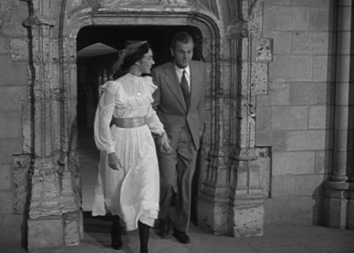 Joseph Cotten and Jennifer Jones in Portrait of Jennie