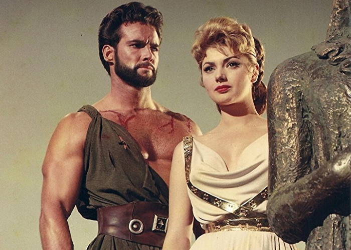 Sylva Koscina and Steve Reeves in Hercules