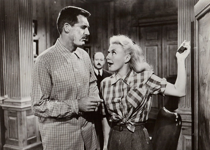 Cary Grant and Ginger Rogers in Monkey Business (1952)