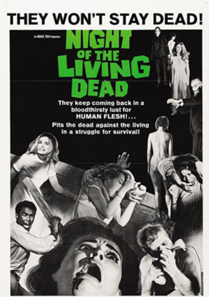 Classic Horror Film Night Of The Living Dead