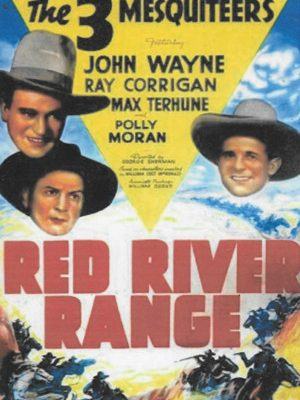 John Wayne, Ray Corrigan, and Max Terhune in Red River Range (1938)
