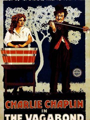 Charlie Chaplin in The Vagabond