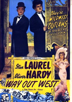 Laurel and Hardy's Way Out West
