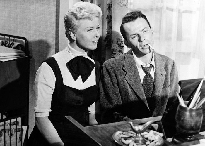 Doris Day and Frank Sinatra in Young at Heart (1954)