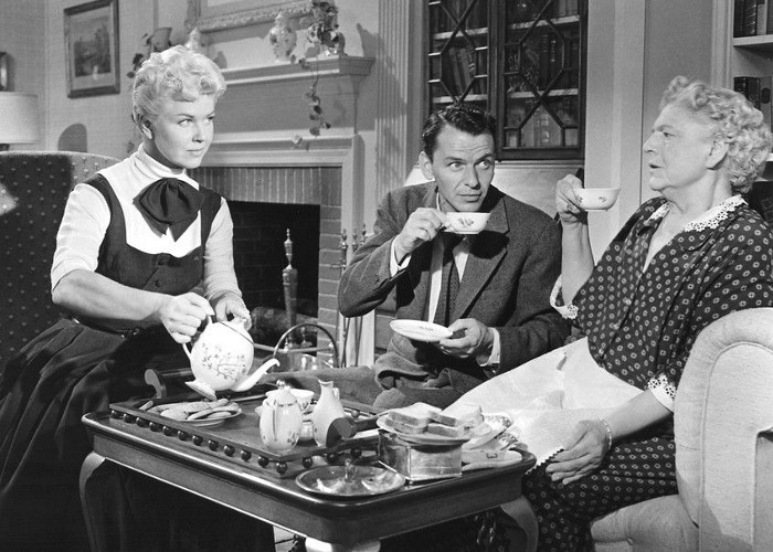 Doris Day, Frank Sinatra, and Ethel Barrymore in Young at Heart (1954)