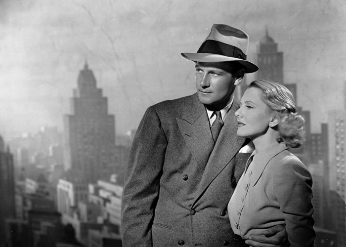 Jean Arthur and Joel McCrea in Adventure in Manhattan (1936)