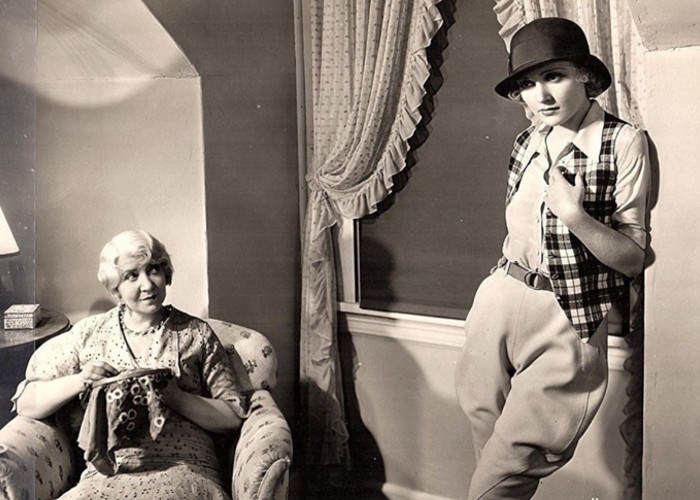 Carole Lombard and Helen Ware in I Take This Woman (1931)