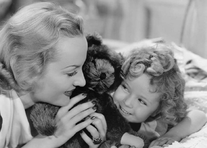 Shirley Temple and Carole Lombard in Now and Forever (1934)