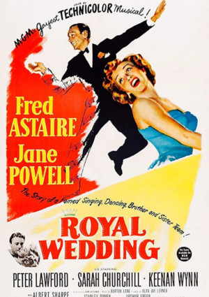 Fred Astaire and Jane Powell in Royal Wedding (1951)