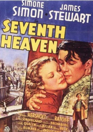 James Stewart and Simone Simon in Seventh Heaven (1937)