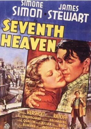 James Stewart and Simone Simon in Seventh Heaven (1937)