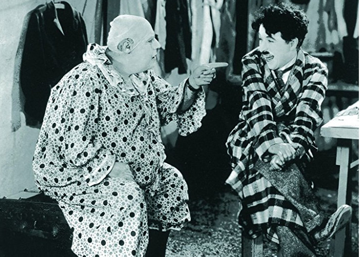Charles Chaplin and Al Ernest Garcia in The Circus (1928)