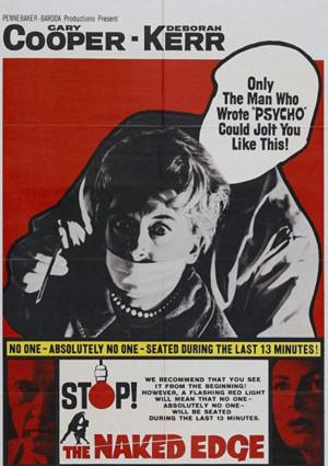 Gary Cooper and Deborah Kerr in The Naked Edge (1961)