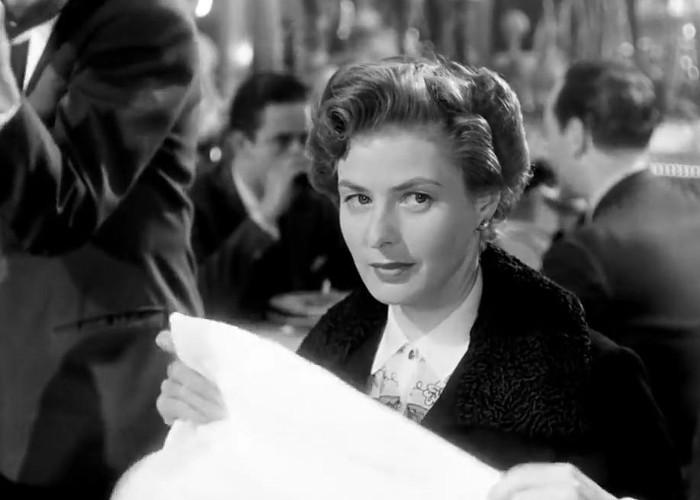 Ingrid Bergman in Viaggio in Italia (1954)