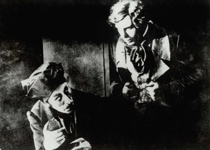 Max Schreck and Gustav von Wangenheim in Nosferatu (1922)