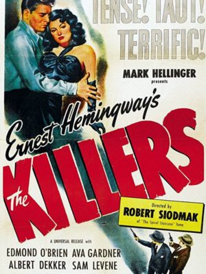 Burt Lancaster, Ava Gardner, William Conrad, Sam Levene, and Charles McGraw in The Killers (1946)