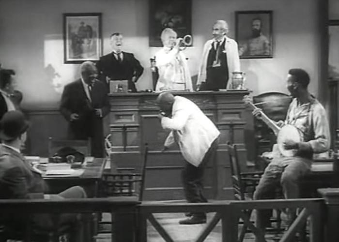 John Russell, Arleen Whelan, and Charles Winninger in The Sun Shines Bright (1953)