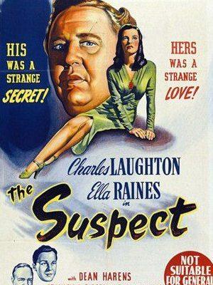 Charles Laughton, Dean Harens, Ella Raines, and Stanley Ridges in The Suspect (1944)