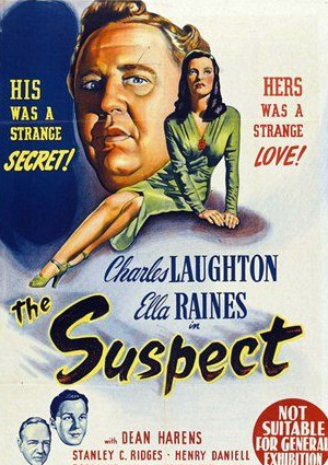 Charles Laughton, Dean Harens, Ella Raines, and Stanley Ridges in The Suspect (1944)