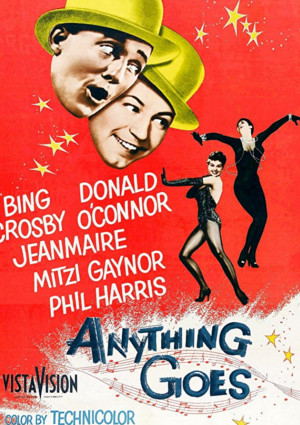 Bing Crosby, Mitzi Gaynor, Zizi Jeanmaire, and Donald O'Connor in Anything Goes (1956)