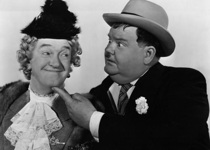 Oliver Hardy and Stan Laurel in Jitterbugs (1943)