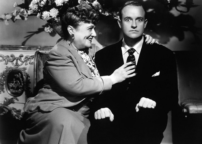Florence Bates and Grady Sutton in My Dear Secretary (1948)