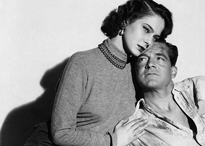 Dana Andrews and Märta Torén in Assignment: Paris (1952)