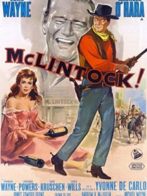 Maureen O'Hara and John Wayne in McLintock! (1963)