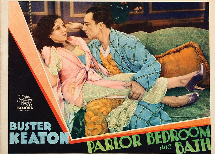 Buster Keaton and Joan Peers in Parlor, Bedroom and Bath (1931)