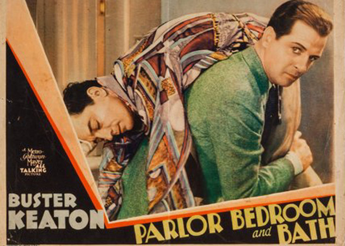 Buster Keaton and Reginald Denny in Parlor, Bedroom and Bath (1931)