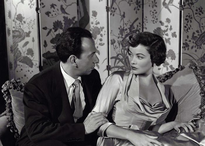 Gene Tierney and José Ferrer in Whirlpool (1950)