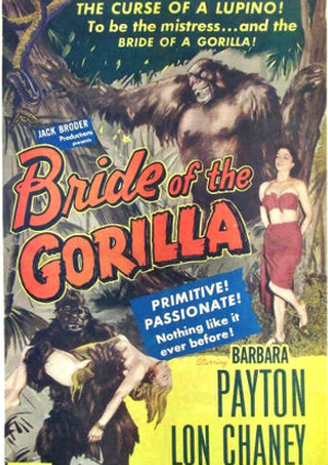Bride of the Gorilla (1951)
