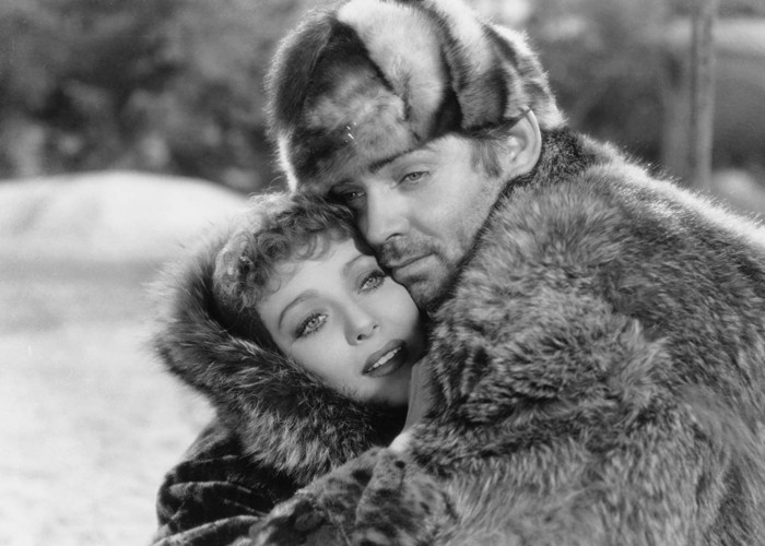 Clark Gable and Loretta Young in Call of the Wild (1935)