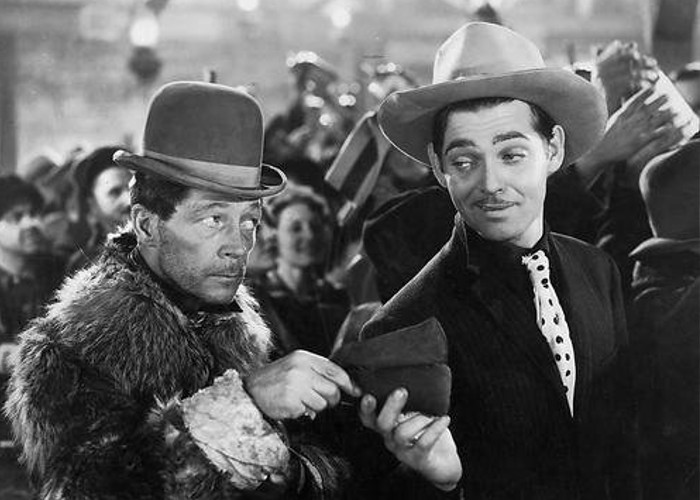 Clark Gable and Arthur Housman in Call of the Wild (1935)