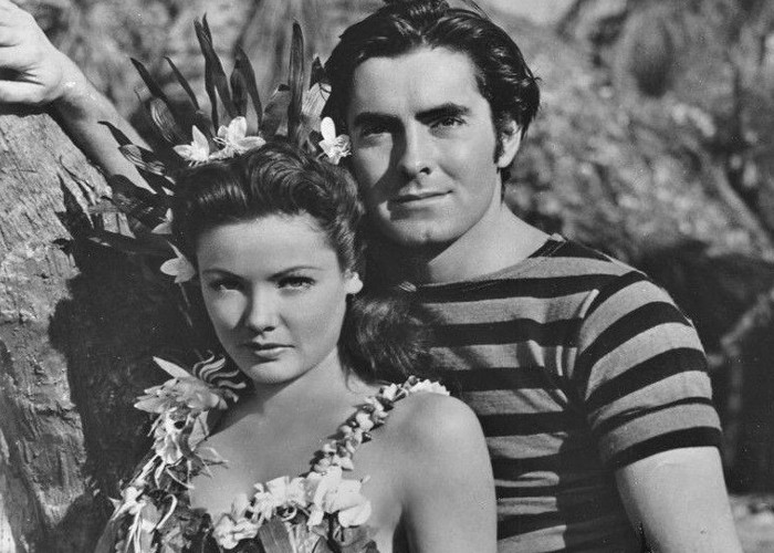 Tyrone Power and Gene Tierney in Son of Fury: The Story of Benjamin Blake (1942)