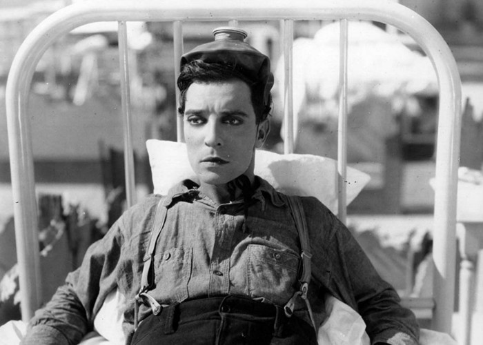 Buster Keaton in Steamboat Bill, Jr. (1928)