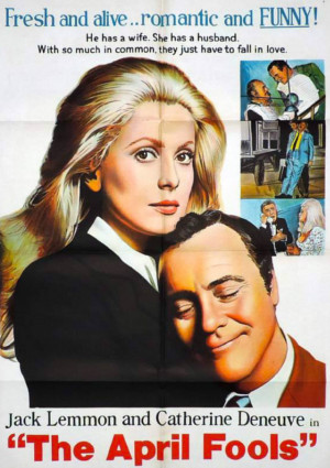 Catherine Deneuve and Jack Lemmon in The April Fools (1969)