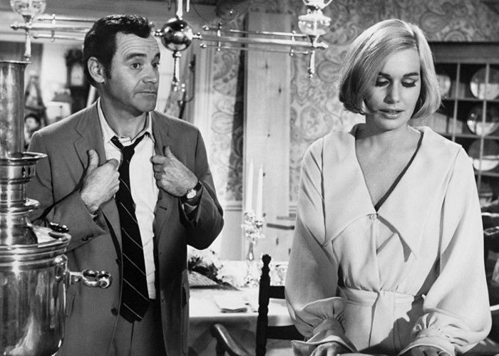 Jack Lemmon and Sally Kellerman in The April Fools (1969)