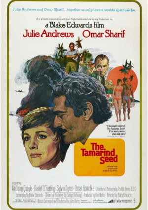 Julie Andrews and Omar Sharif in The Tamarind Seed (1974)