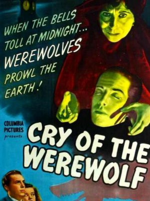 Nina Foch, Stephen Crane, and Blanche Yurka in Cry of the Werewolf (1944)